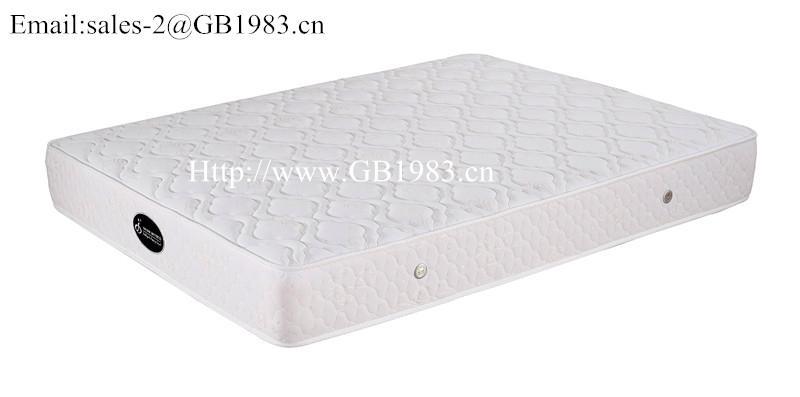 Economic Coil And High Density Foam Hybrid Mattress Wholsale 4