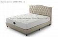 Economic Coil And High Density Foam Hybrid Mattress Wholsale 5