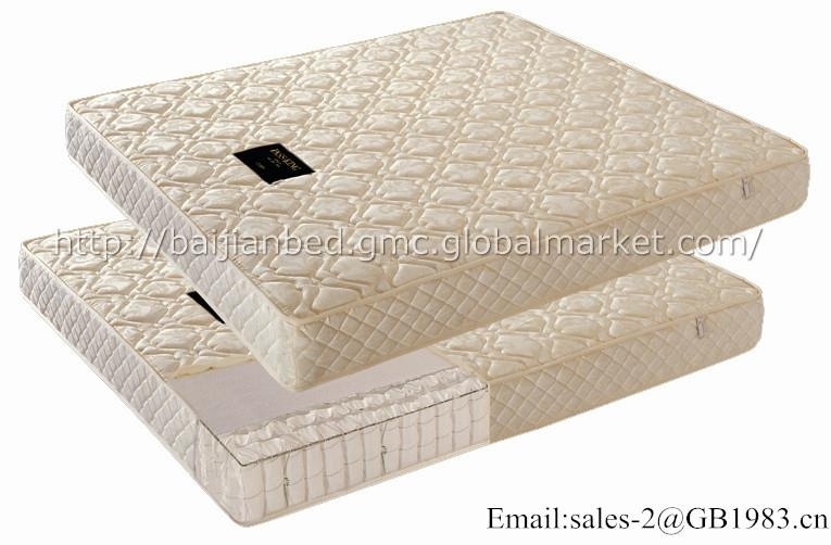 Economic Coil And High Density Foam Hybrid Mattress Wholsale 2