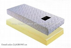 High Density Memory Foam Mattress For Bunk Bed Roll Up Packing