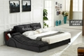 Popular Fabric Bed With Side Leisure Chaise  4