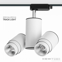 double heads with multi lighting angle led track lighting 8*2W