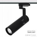 2015 hot led track light CREE chip 15/24/38/60 optional beam angle 12W 2
