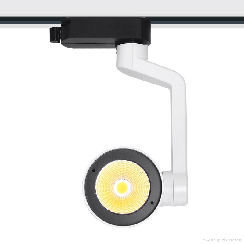 2015 hot led track light CREE chip 15/24/38/60 optional beam angle 12W 3