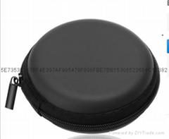 直销防震中性拉链耳机包