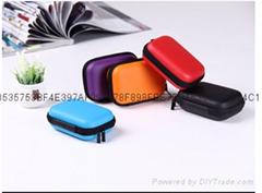 耳機收納包便攜式耳機包收納盒