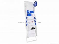 Shoe Display Shelves-Shoe rack folding-Commercial Shoe Displays