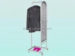 Garment Display Racks-High grand commercial shoe racks-Heavy Duty Clothing