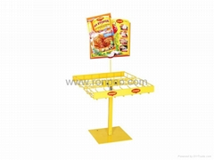 Rotating Counter Rack-Grocery Display-Gondola Store Shelving