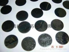 Magnetic coating surface treatment