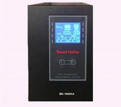 1kva 600w sine wave UPS external 12V lead acid battery LCD AVR