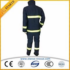 EN469 Aramid Fire Suit Fire Fighting Suit