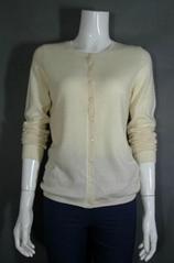 100% cashmere cardigan sweater