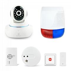 mobile app control wireless outdoor siren