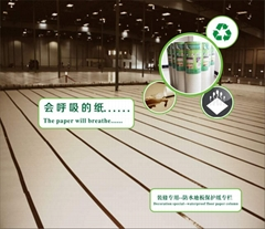 temporary floor protection paper for construction