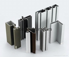 profiles  aluminum for windows and doors and Cabinet