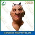 Demon monster hallwoeen latex mask for