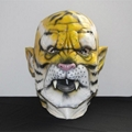 Male leopard animal latex mask for stag