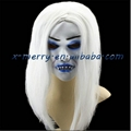 Horror ghost mask with long hair for