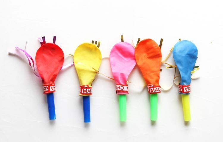 金絲哨氣球 1