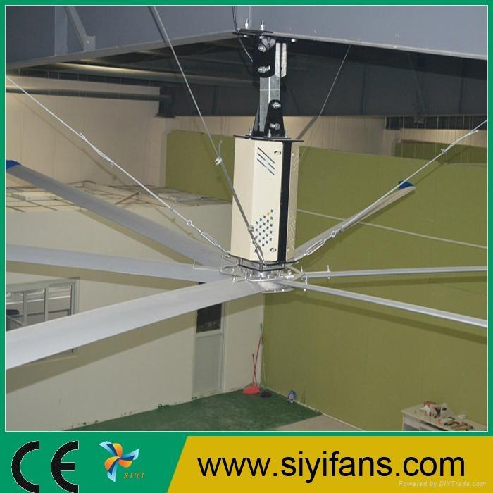 24ft China Siyi Big Diameter Industrial Ceiling Fan