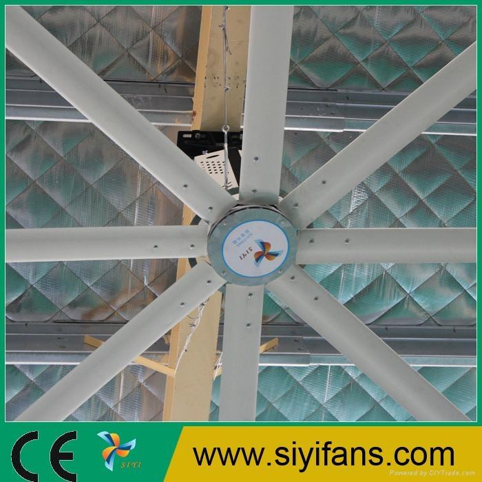 12ft Good Price HVLS Warehouse Ventilation Large Ceiling