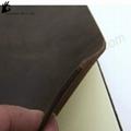 vintage leather blocks notebook