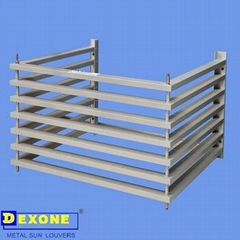 Aluminum air conditioner louver of upgrade the building