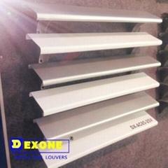 External 85mm aluminum sun louver for window