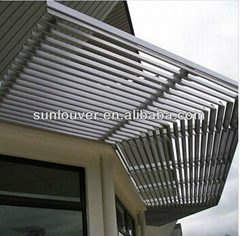 Aluminum solar shading/window louver for building