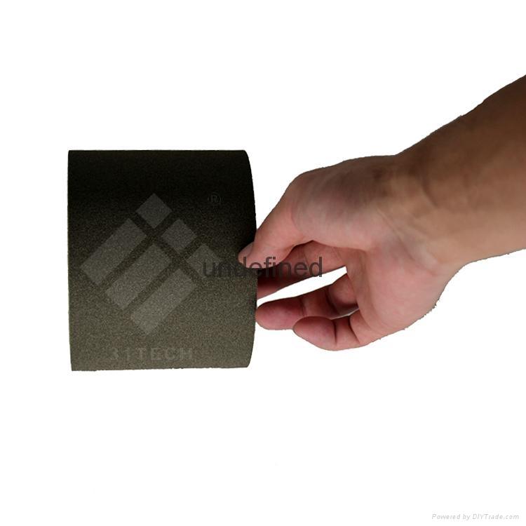 現貨供應ECT-R312C 韓國進口A-JIN黑色格紋單面導電膠帶 1