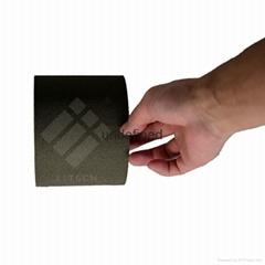 現貨供應ECT-R312C 韓國進口A-JIN黑色格紋單面導