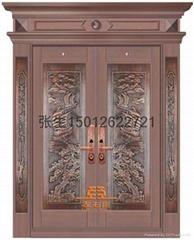 深圳別墅銅門