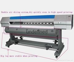 Digital inkjet 1.6 2.2 1.8 3.2m banner vinyl  eco solvent printer