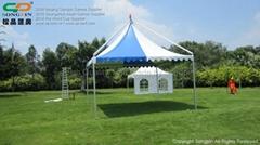 5mx5m aluminum gazebo for garden and beach
