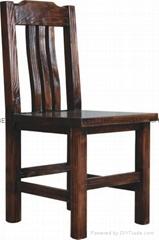 現代新古典實木餐椅
