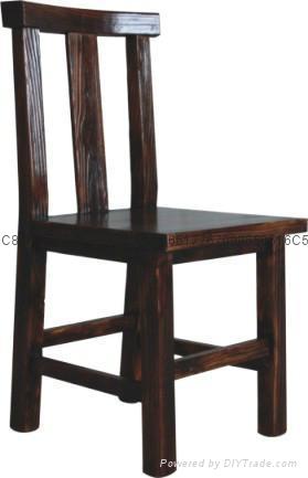 現代新古典實木餐椅 3