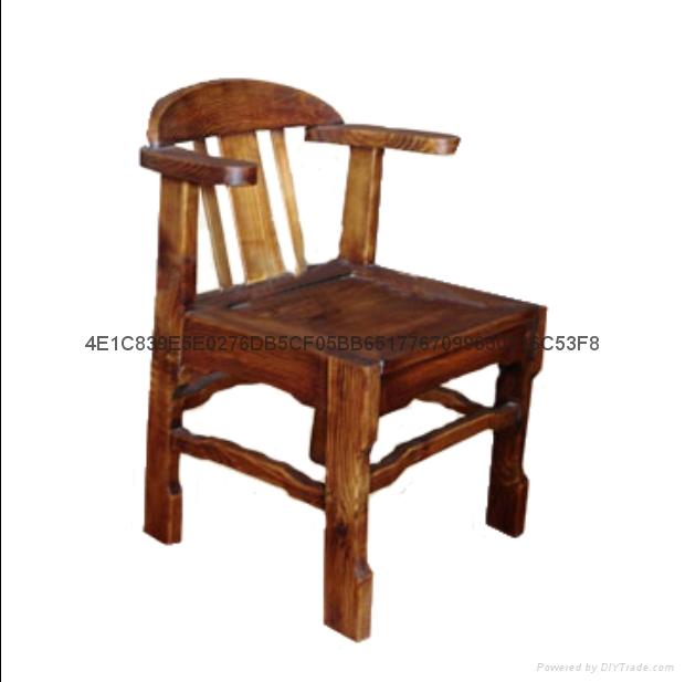 現代新古典實木餐椅 4