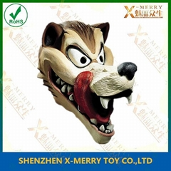 greedy wolf mask halloween latex mask cartoon animal nice cosplay