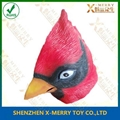 angry red bird mask fullhead latex mask