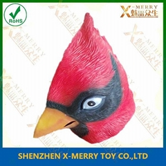 angry red bird mask fullhead latex mask funny game character
