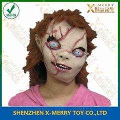 chucky mask chainsaw horror classic halloween mask