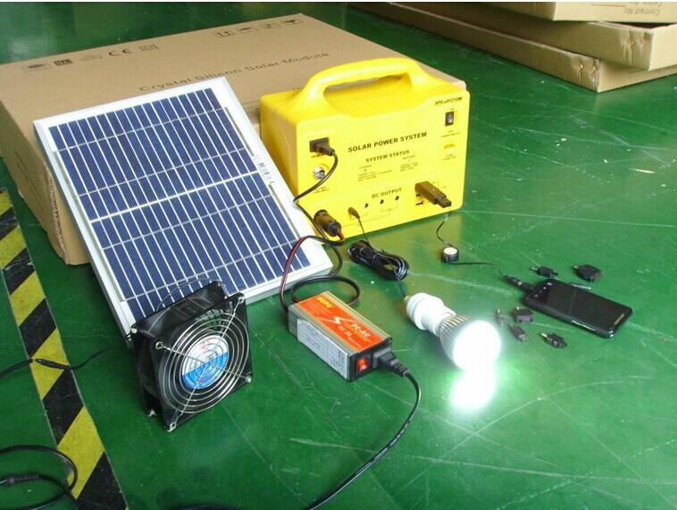 30w portable solar power system solar pv mounting system for ground installation 1
