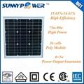 9W poly solar cell solar panel dongguan