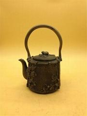 iron casting teapots