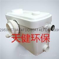 供应多功能卫生间污水提升器TJBS-100