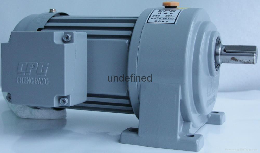 CPG单相(刹车)马达减速机 5