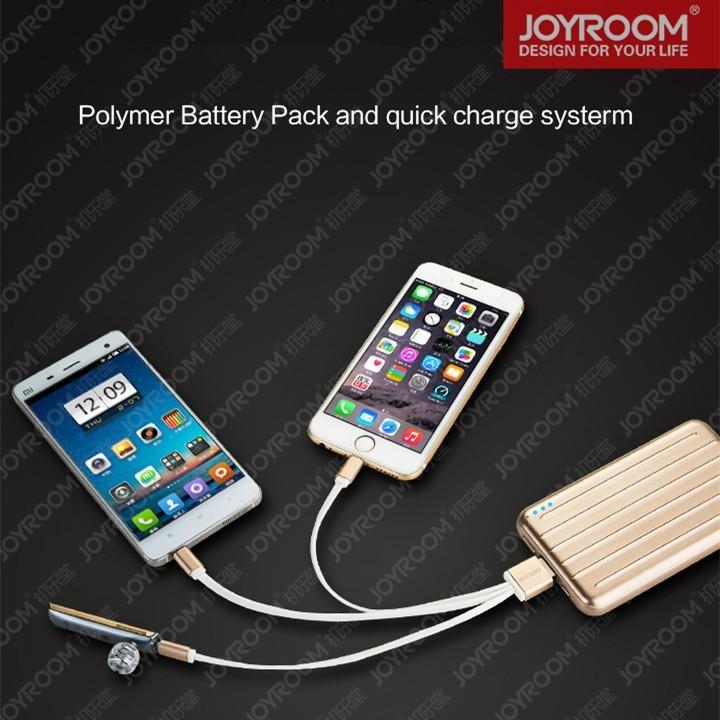 JOYROOM 10000mah usb mobile battery charger mobile phone power bank 4