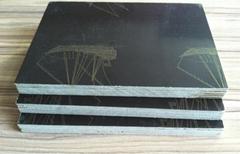 12mm black film faced plywood