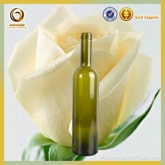 wholesale high quality 500ml bordeaux glass wine bottle